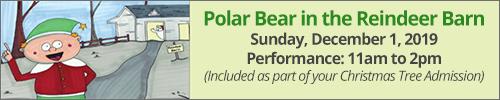 Polar Bear in the Reindeer Barn